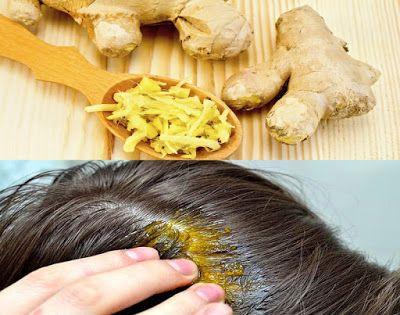 Masque capillaire au gingembre pour fortifier et pousser les ...