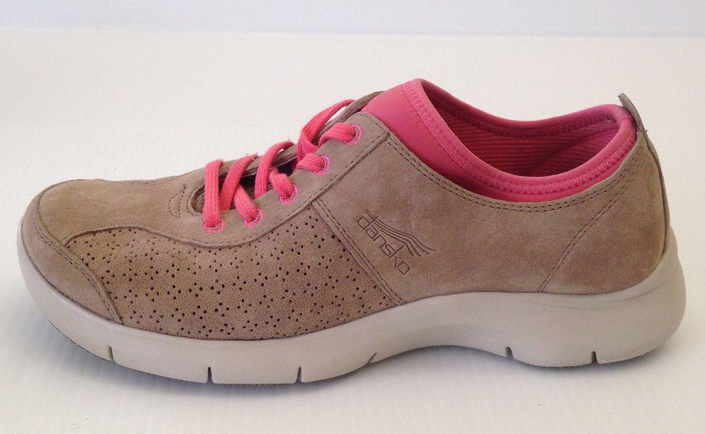 DANSKO Women's Elise Suede Tan Sneaker