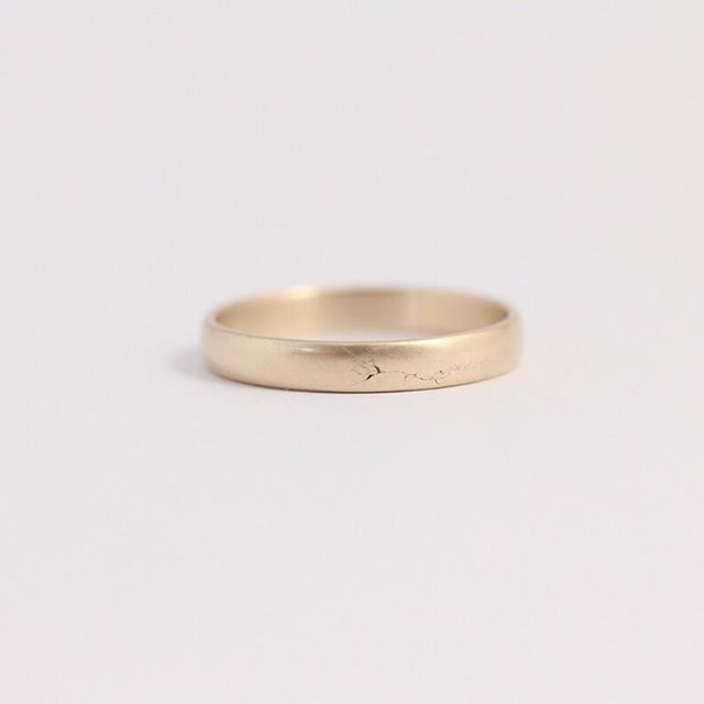 Ash Hilton Jewellery On Instagram Plain Gold Band Made From Alluvial Gold Collected Right Here In Wooden Rings Engagement Gold Wedding Band Engagement Rings