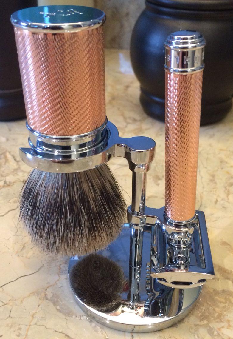 Safety Razor & Brush-Art of Shaving