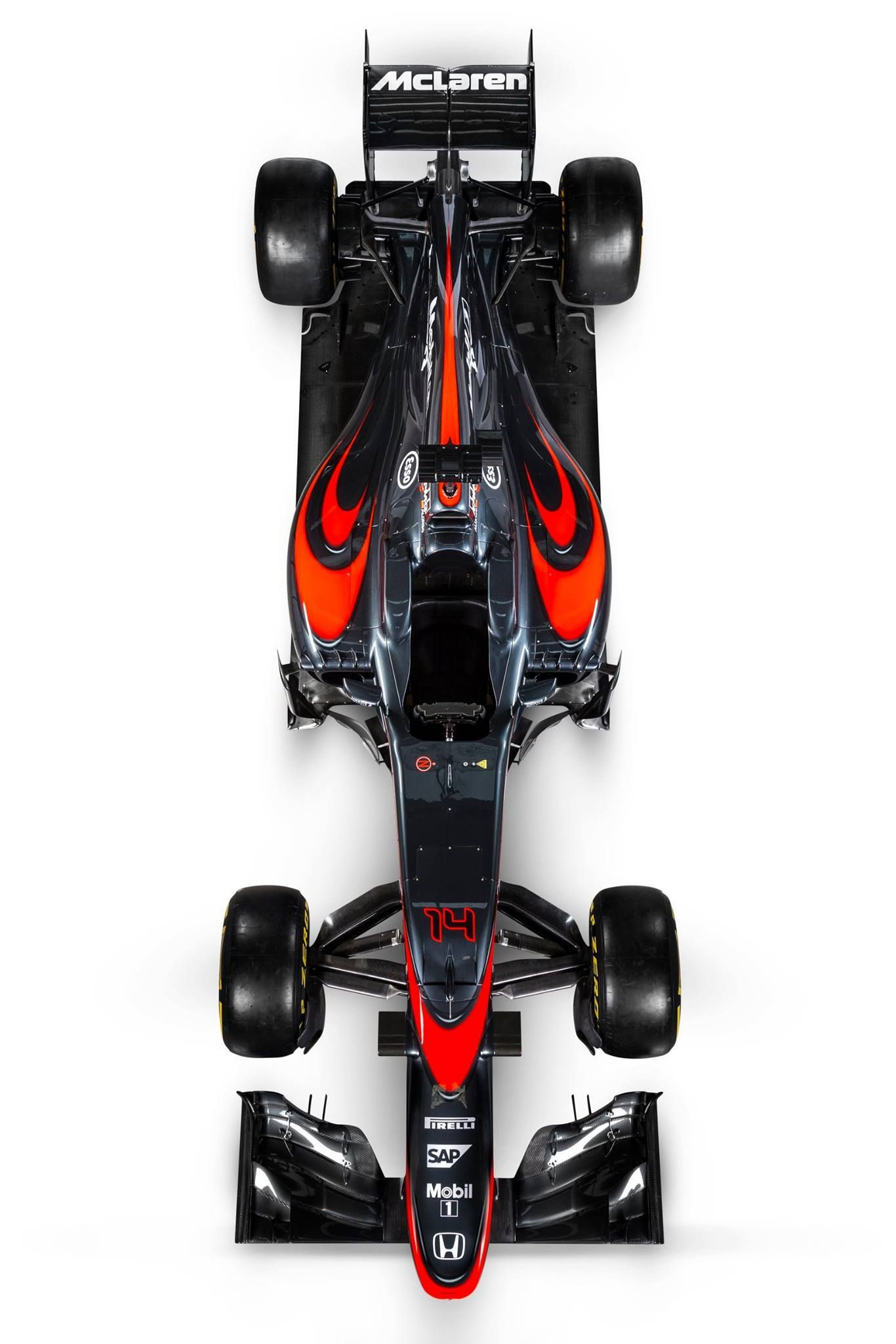 McLaren Honda MP430 New Colouring. Hopefully this one is