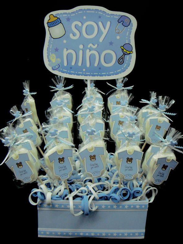Centro de mesa soy ni o moda pinterest babies for Mesa baby shower nino