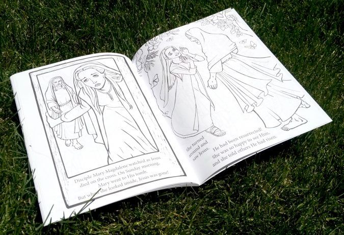 Simple Princess Coloring Pages : Scripture princesses coloring book mary magdalene pages