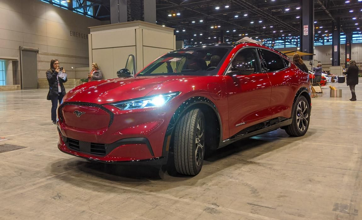 Ford Mustang Mach E First Ride Preview At Chicago Auto Show In