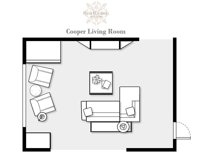 living room furniture layout with fireplace small room - Google ...