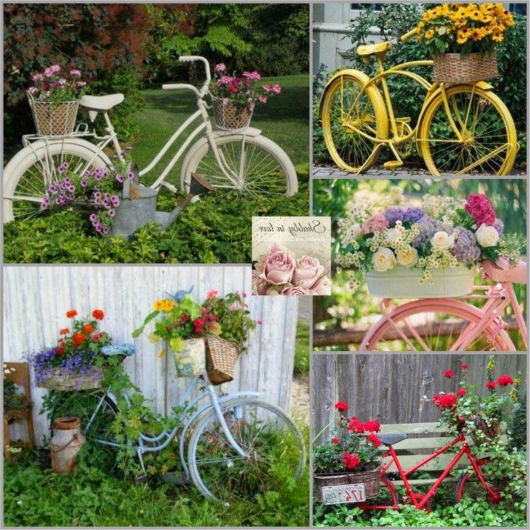 38 Elegant Vintage Yard Decorating Ideas Vintage Garden Decor Diy Garden Garden Front Of House
