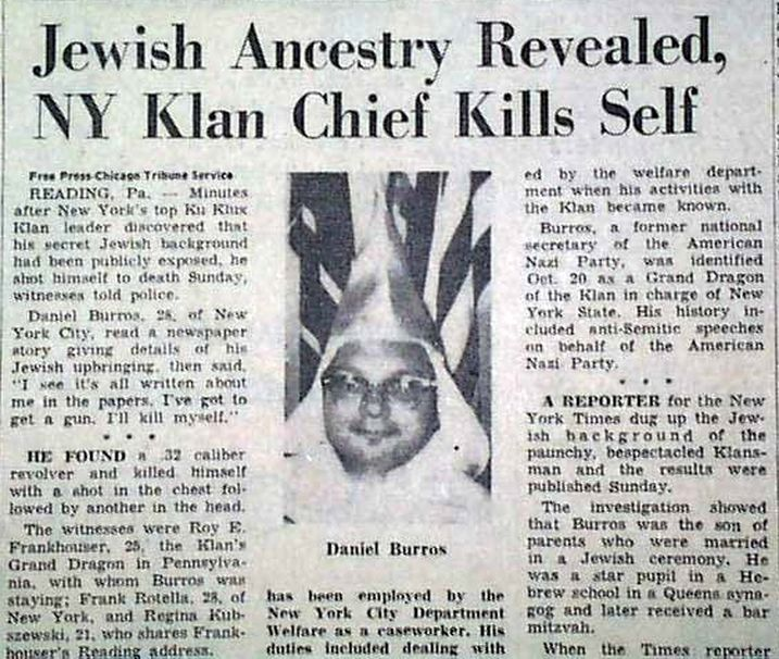 """JEWS AND THE SLAVE TRADE  According to an interview given by Orthodox Rabbi Lody van de Kamp to the Jewish Telegraphic Agency newspaper on December 26, 2013: """"Money was earned by Jewish communities in South America, partly through slavery, and went to Holland, where Jewish bankers handled it....In one area of what used to be Dutch Guyana, 40 Jewish-owned plantations were home to a total population of at least 5,000 slaves,"""" he says."""
