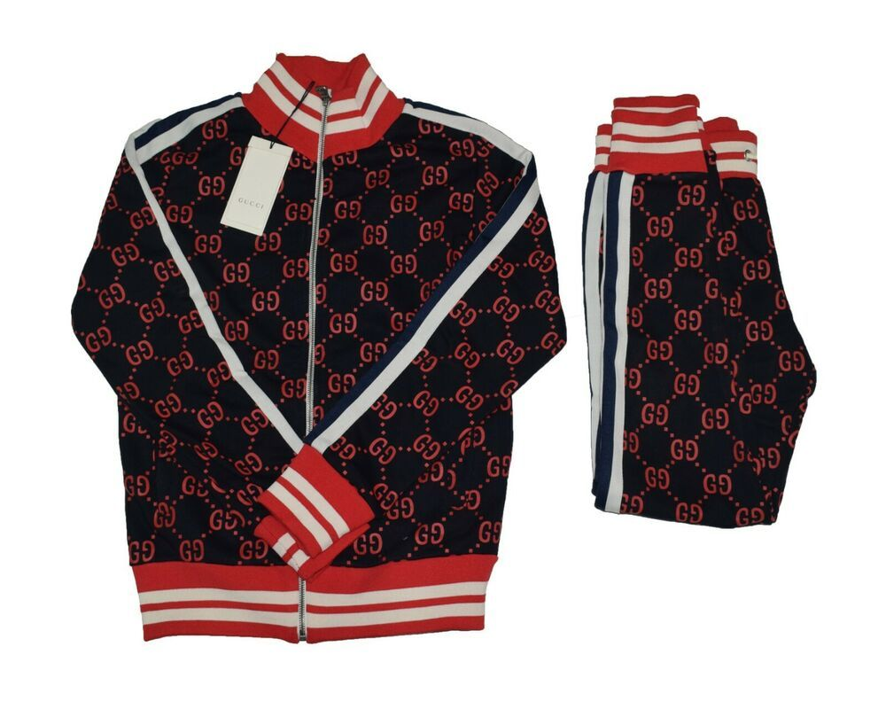 Used Gucci Mens Tracksuit Set Sweater And Pants Size Xl Fashion Clothing Shoes Accessories Mensclothing Activewear Ebay Link