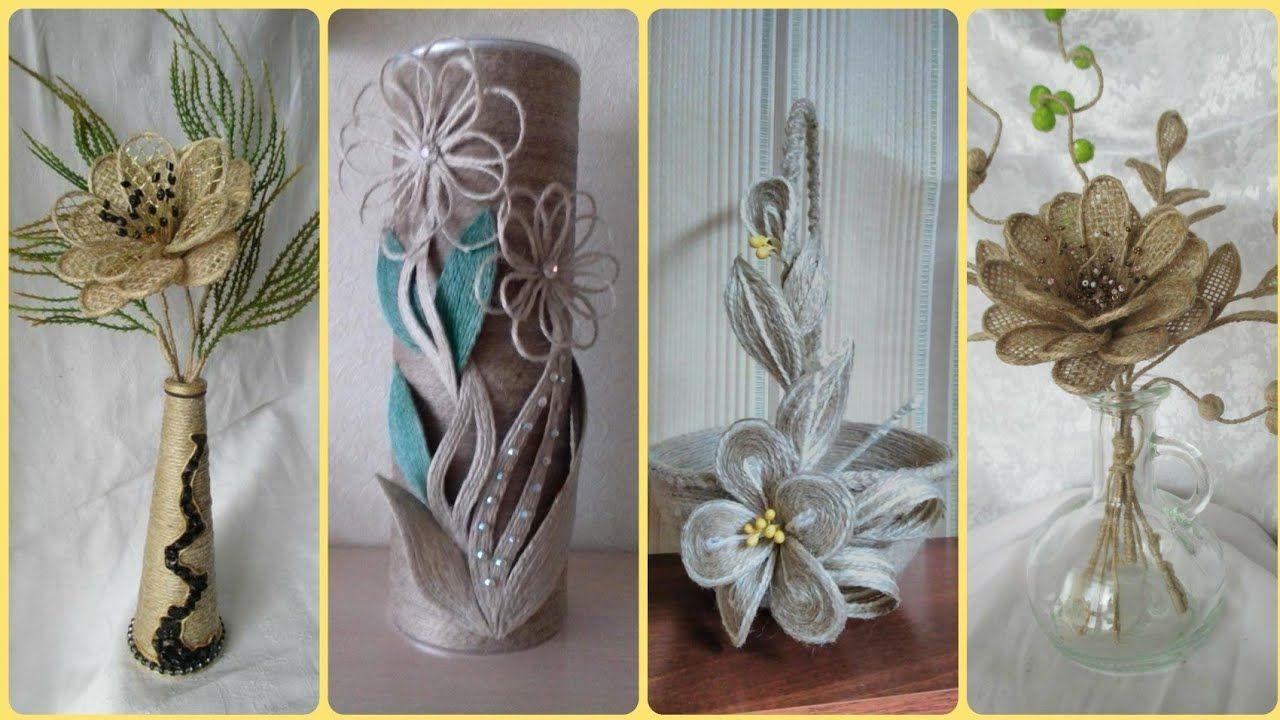 50 Diy Jute Rope Craft Ideas Jute Art Jute Home Decor Items