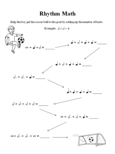 Rhythm Math Music Theory Worksheet Music Theory Worksheets Free Music Theory Worksheets Teaching Music Theory