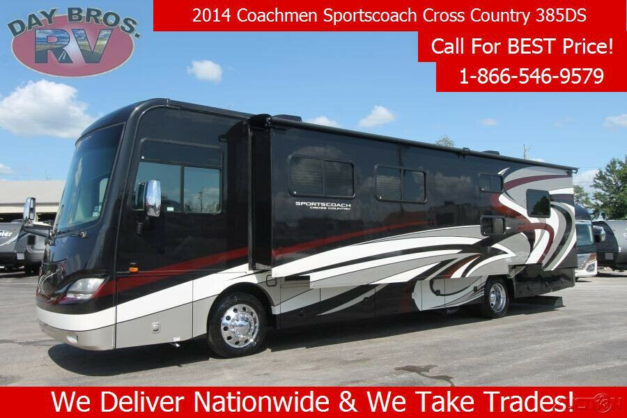 2014 Coachmen Sportscoach Cross Country Cross Country Recreational Vehicles Rv Parks