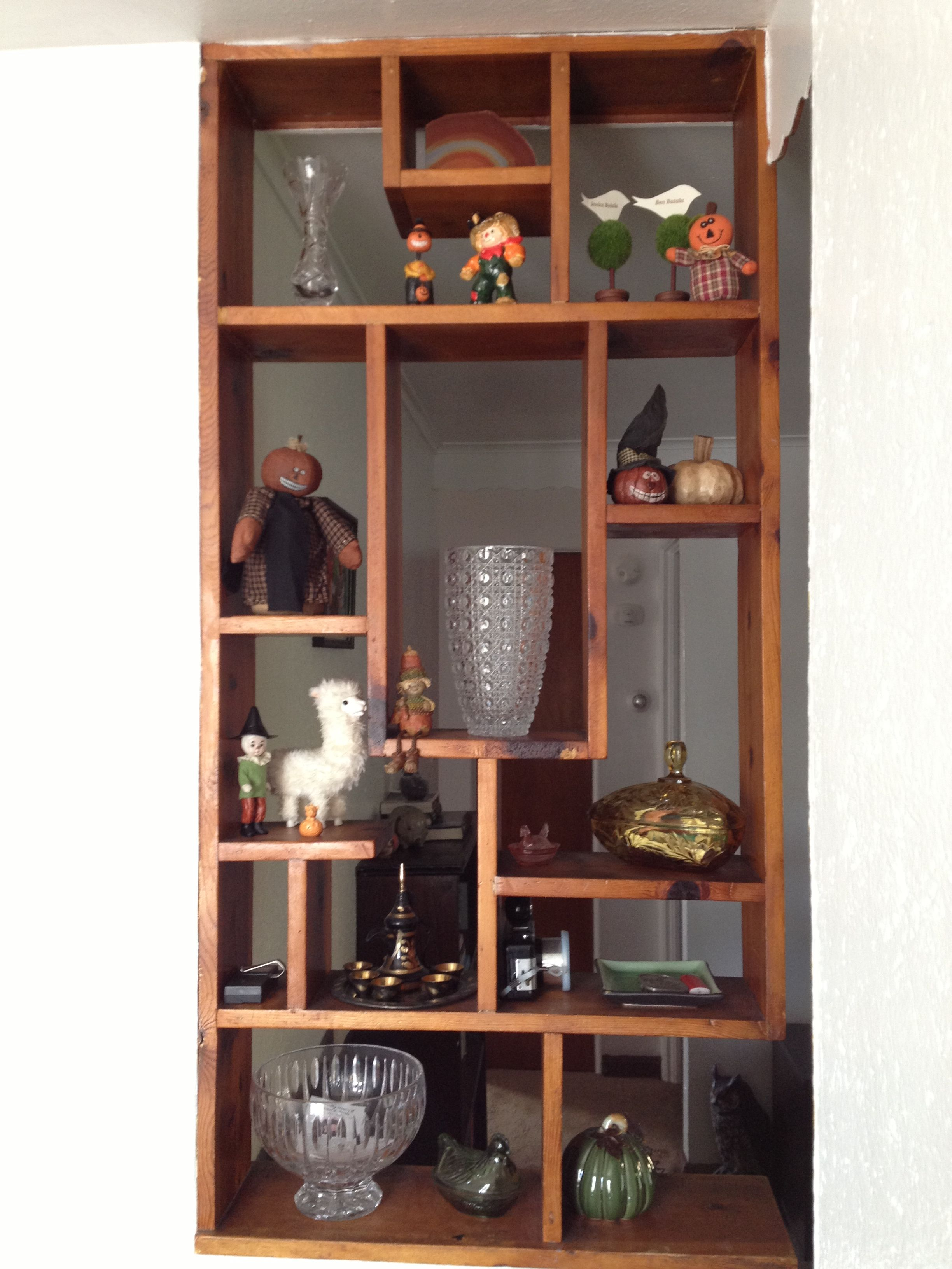 Partition Shelves