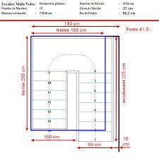 Image result for calcul escalier avec palier building for Longueur d un escalier