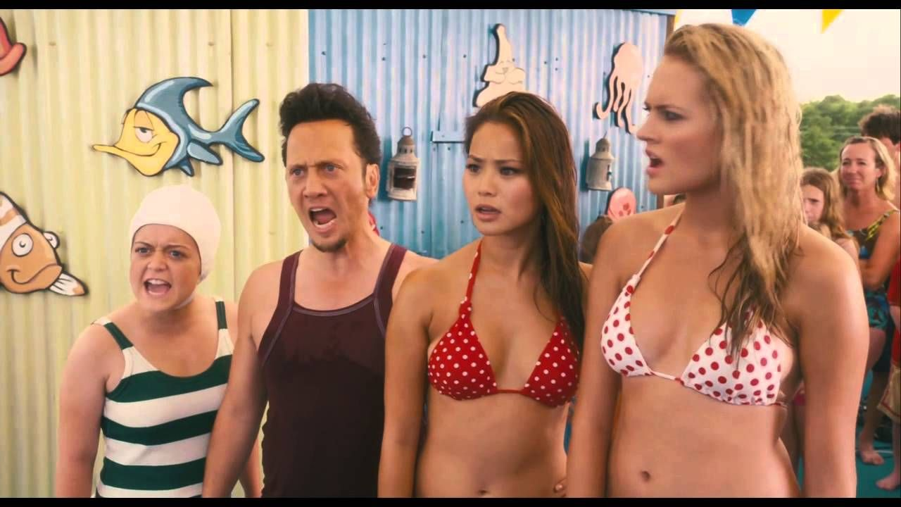 Jamie Chung Scene grown ups - water park canadian guy scene (720p hd) | jamie