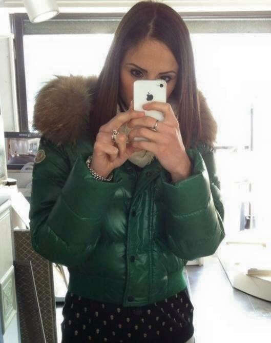 732d5ed09fd2e7 Green Moncler Alpin down jacket   kurtki w 2019