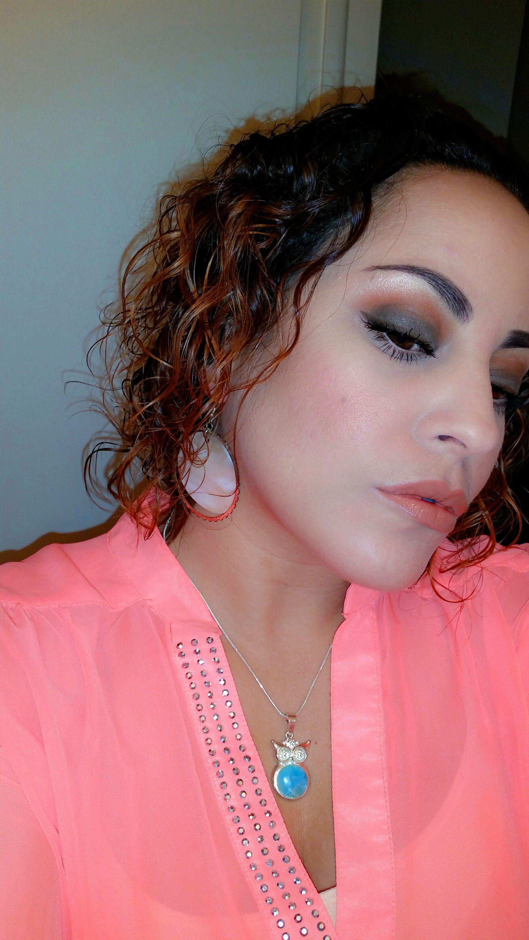 mac makeup eyeshadow brown smokey eye Smokey eye for