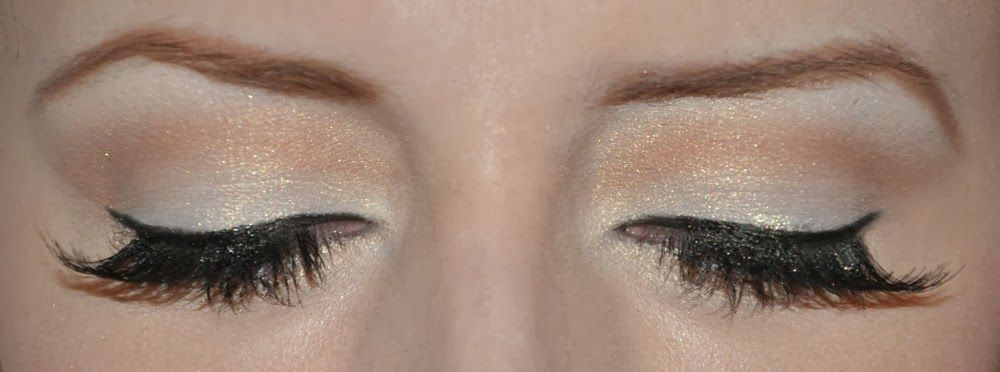 Golden Winter Glam Makeup
