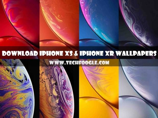Free Download Apple Iphone Xs And Iphone Xr Stock Wallpapers