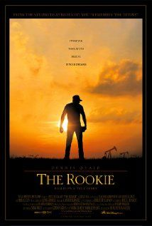 The Rookie Poster A Texas Baseball Coach Makes The Major League After Agreeing To Try Out If His High School Tea The Rookie Movie Baseball Movies Sports Movie