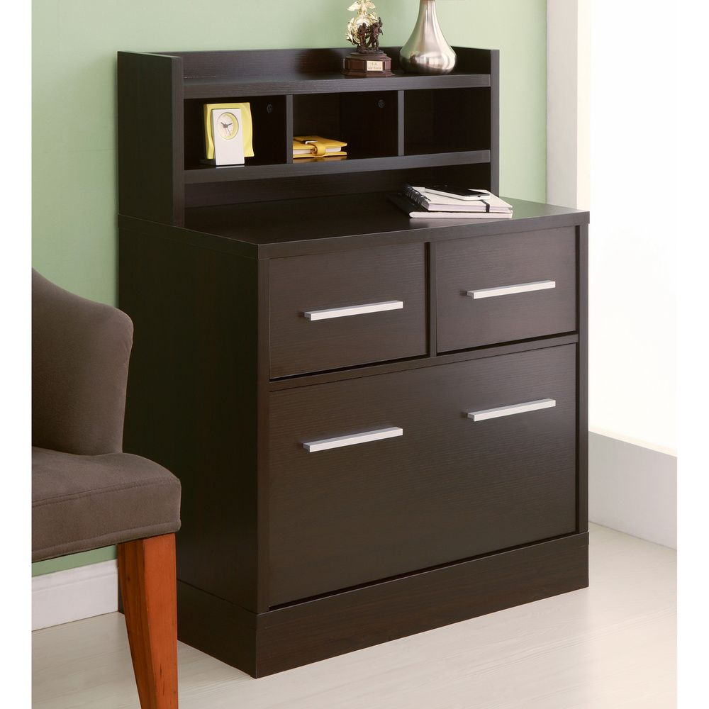 Hotchner Multi Storage File Cabinet Work Station Cuccino Ping The Best Deals On Cabinets