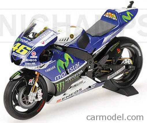 Minichamps 122143046 scala 1//12 yamaha yzr-m1 n 46 movistar season motogp 2014