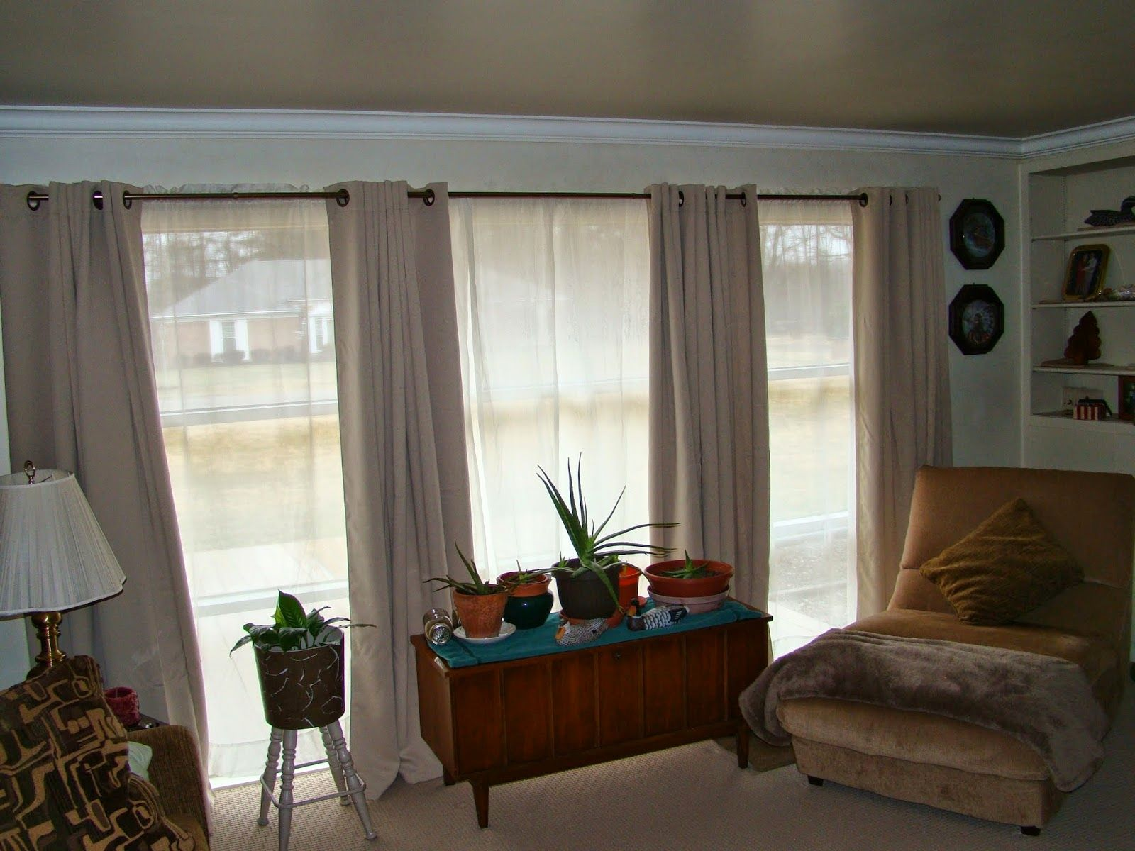 Curtain Ideas For Living Room 3 Windows Curtains D Curtains