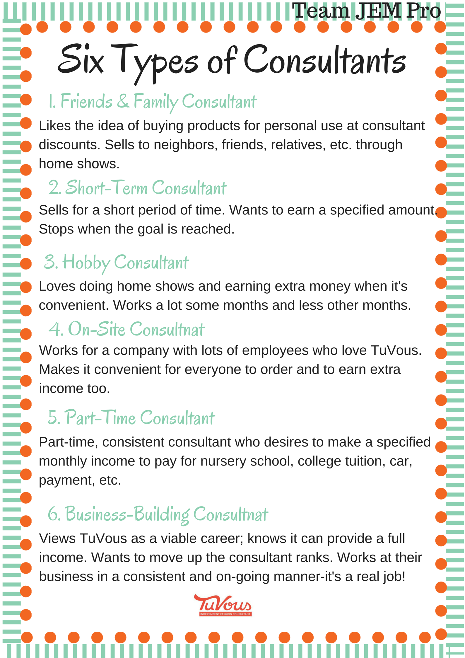 Six Types Of Direct Sales Consultants What Type Are You Www