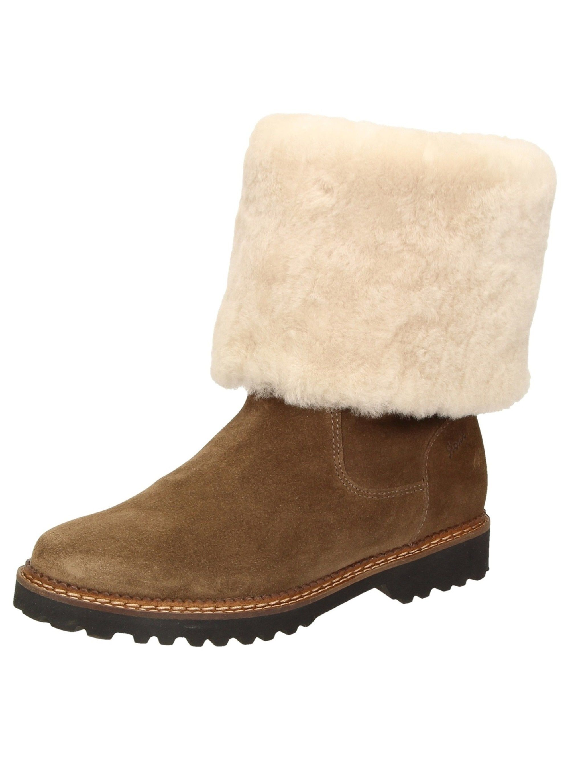 Damen SIOUX Stiefel Velma-LF beige braun braun   Material  Leder  Material  90157910fd