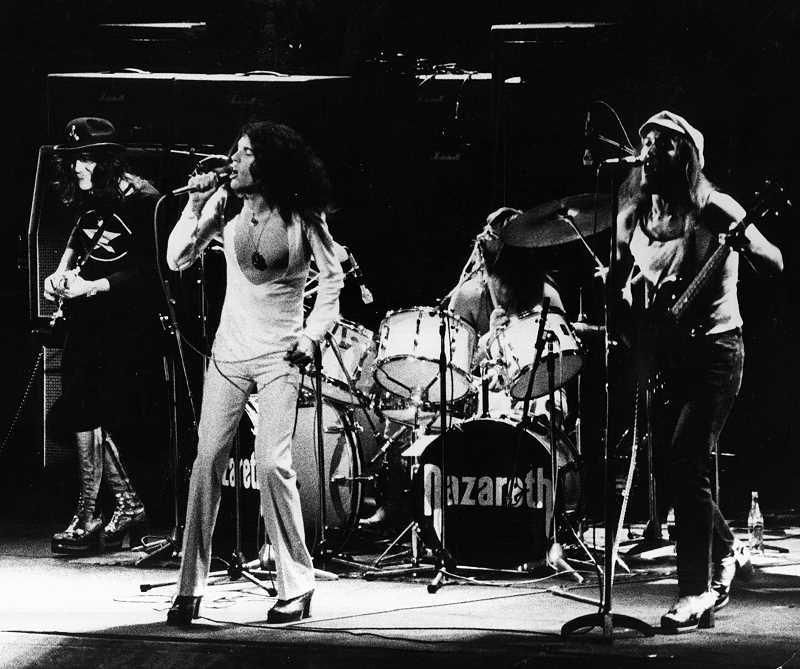 Nazareth 1975 Hair of the Dog Album