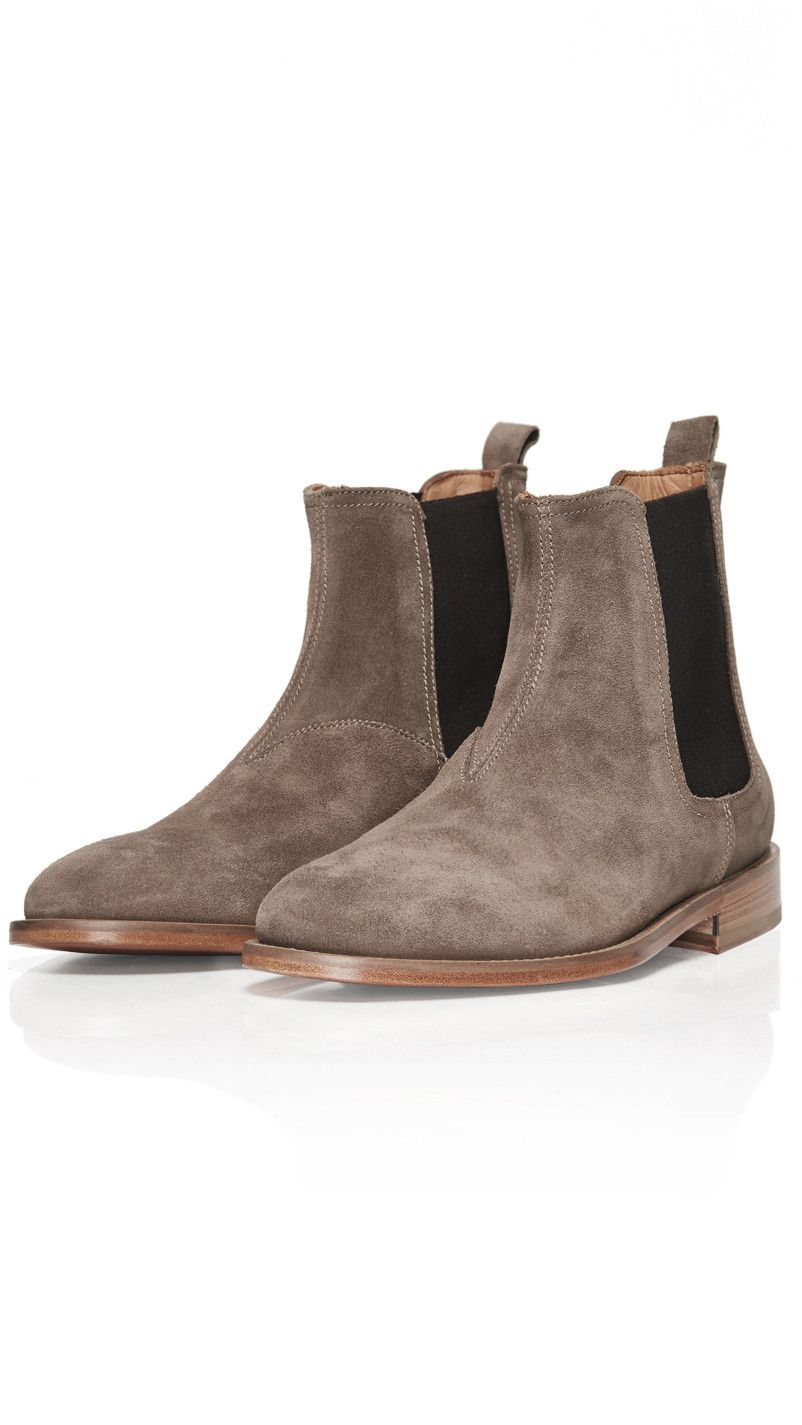 Chelsea Boot Taupe Represent Clo Chelsea Boots Boots Sneaker Boots