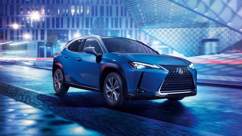 Lexus Reveals Ux 300e Electric Crossover Electric Crossover Lexus New Lexus