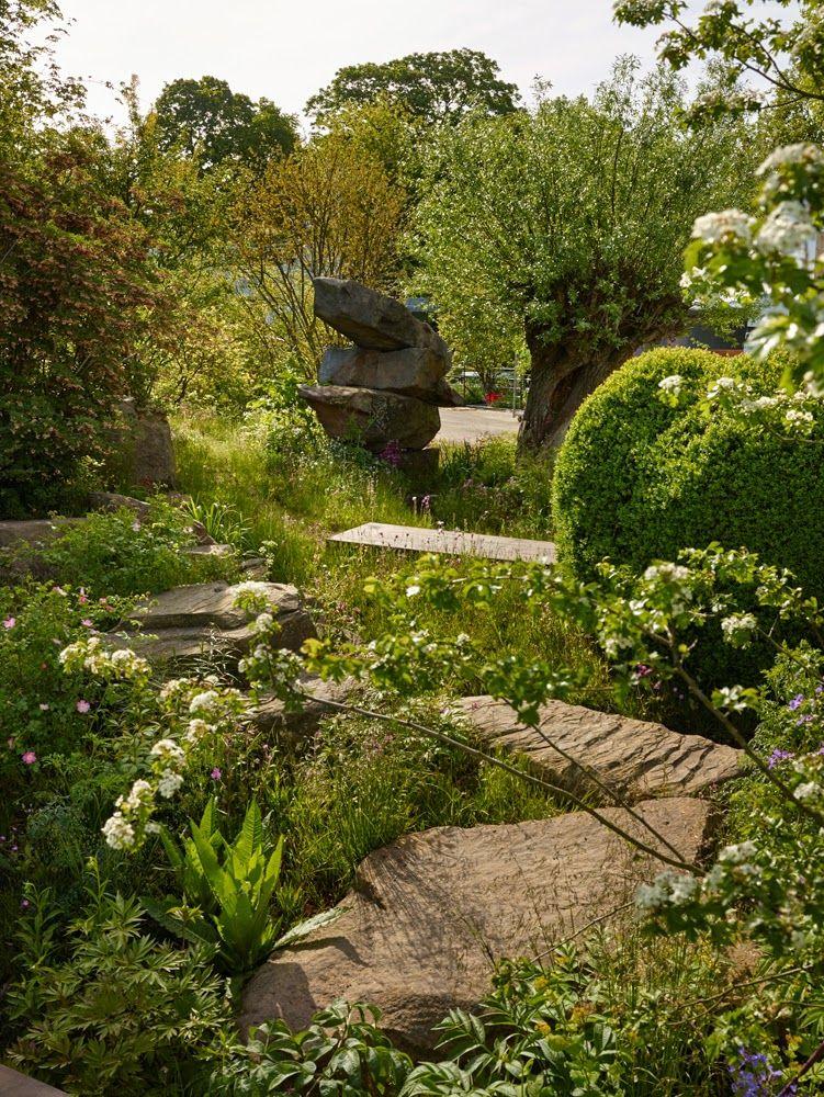 dan pearson / laurent-perrier chatsworth garden, rhs chelsea 2015 ...