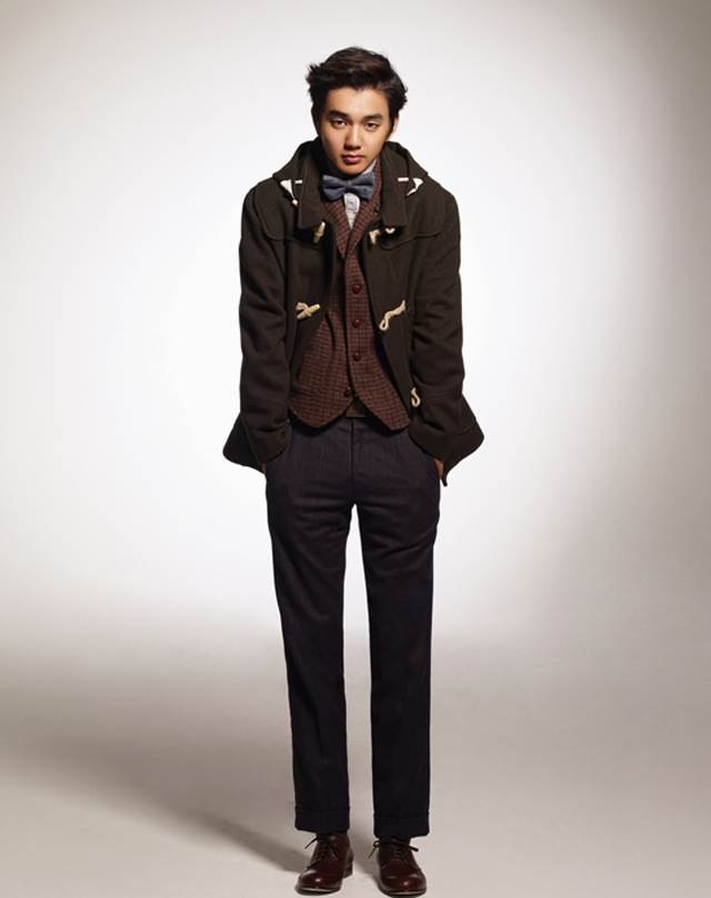 Yoo Seung Ho for Customellow F/W 2011Collection
