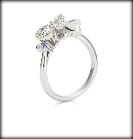 Dumbo Engagement Ring Disney Engagement Rings Disney Princess