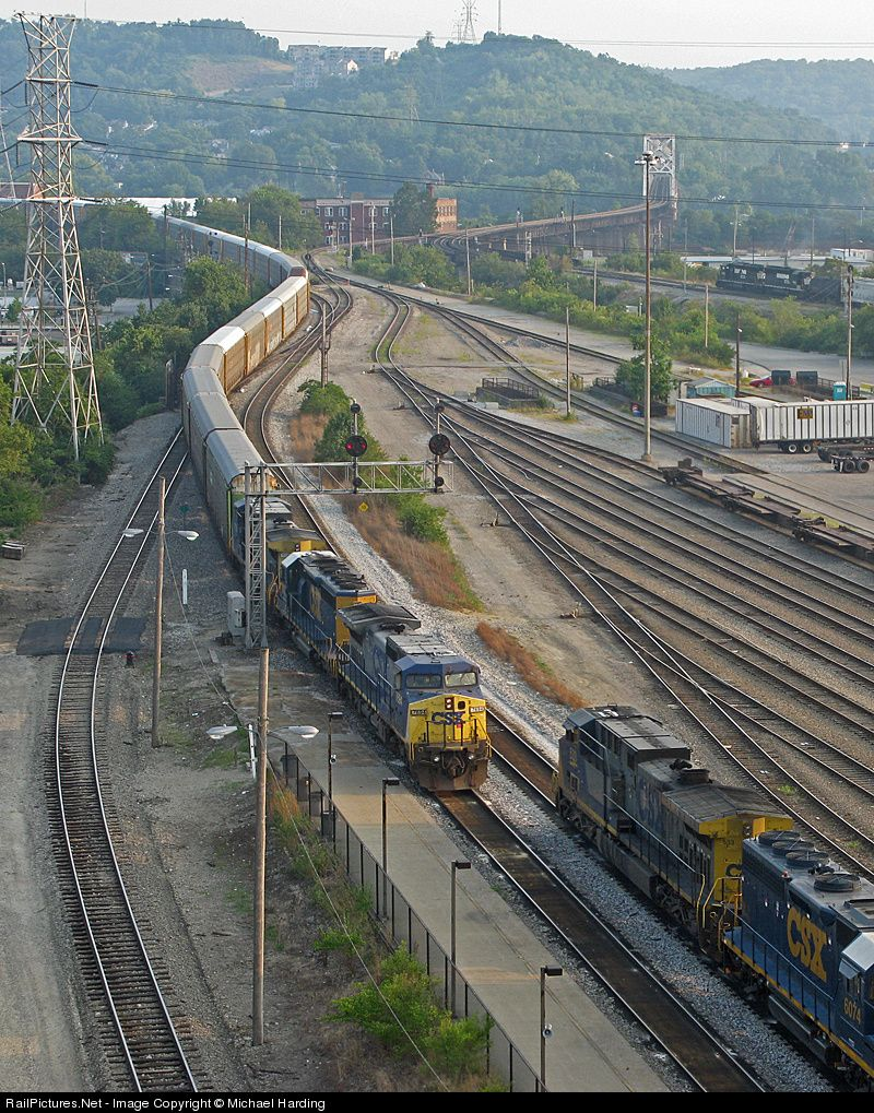 RailPictures.Net Photo: CSXT 7694 CSX Transportation (CSXT) GE C40-8W (Dash 8-40CW) at Cincinnati, Ohio by Michael Harding