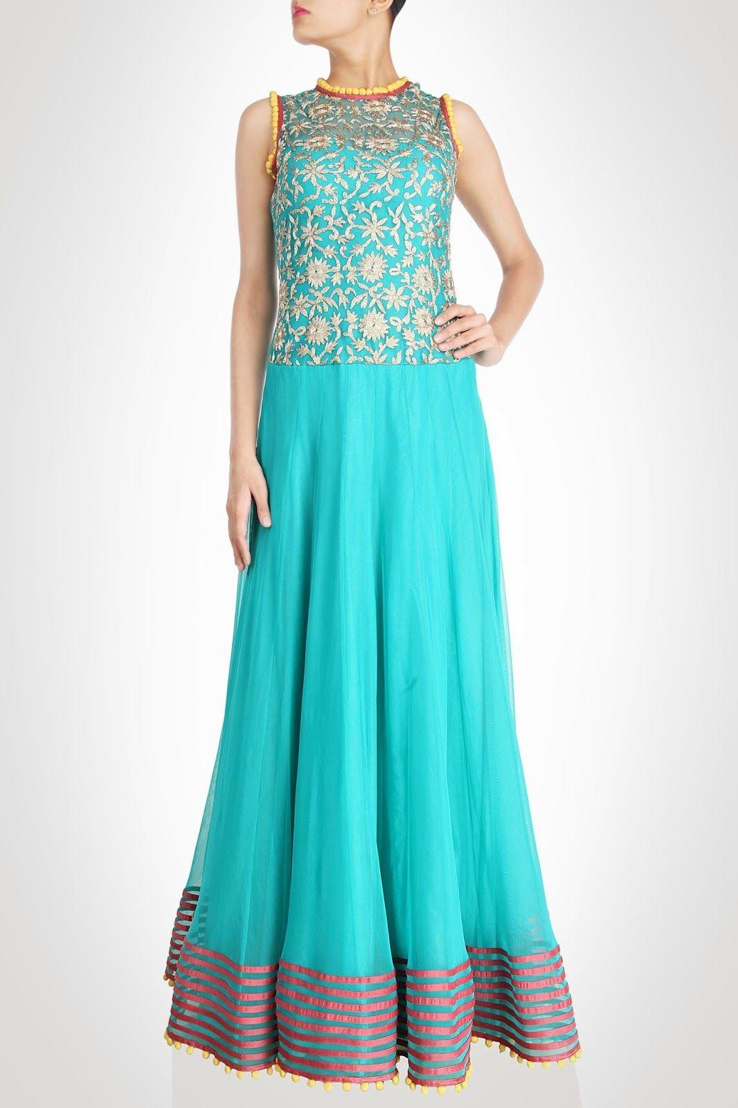 Maxi Dress Indian Style  0ab79ab42
