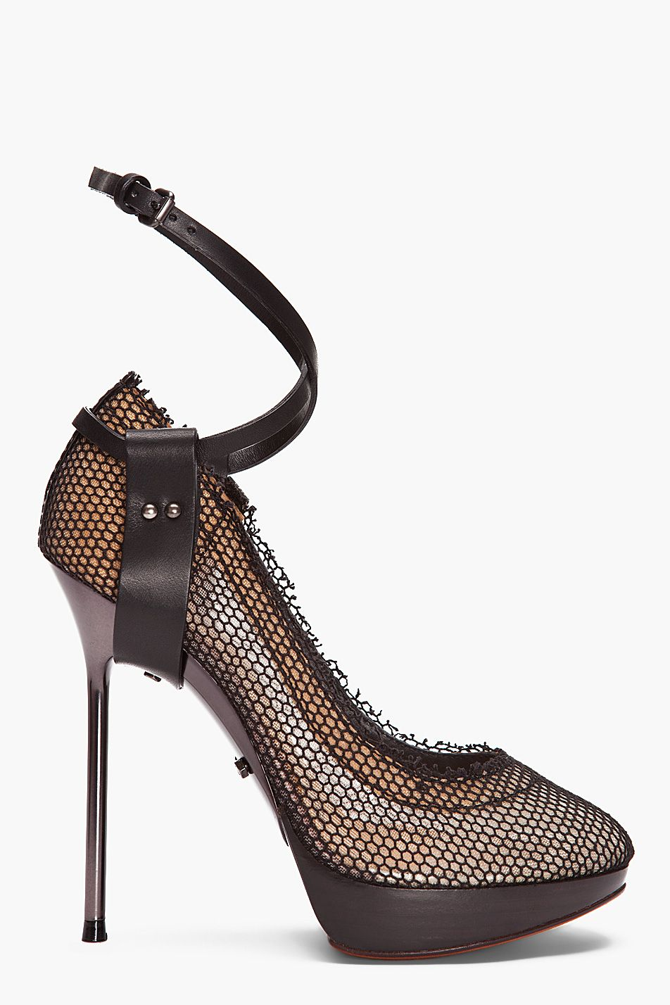 outlet in China outlet discount Lanvin Snakeskin Wrap-Around Pumps EqnlY7