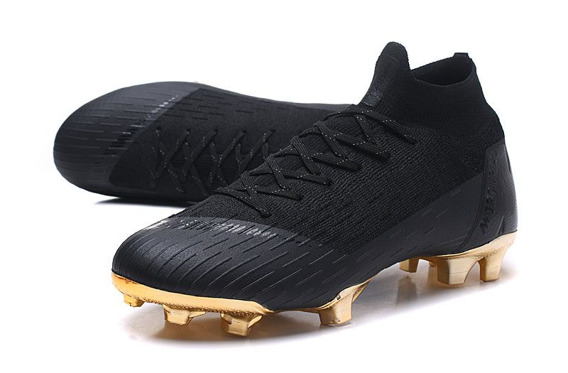 7e706cbb1b1 New Nike Mercurial Superfly 6 Elite FG World Cup - Black Golden ...