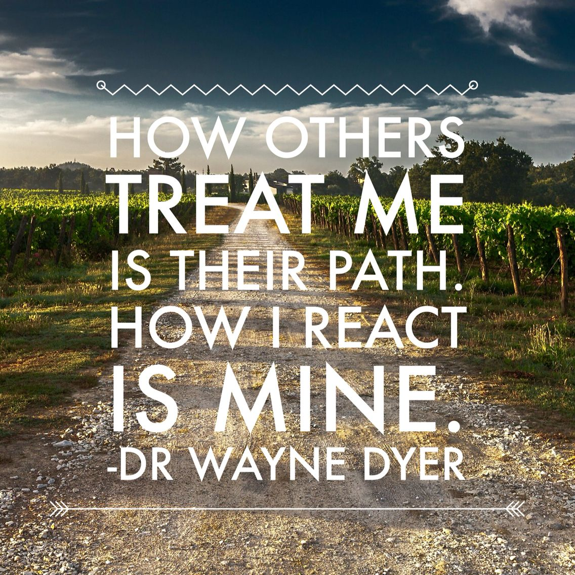 Bildergebnis für Wayne dyer how others treat me