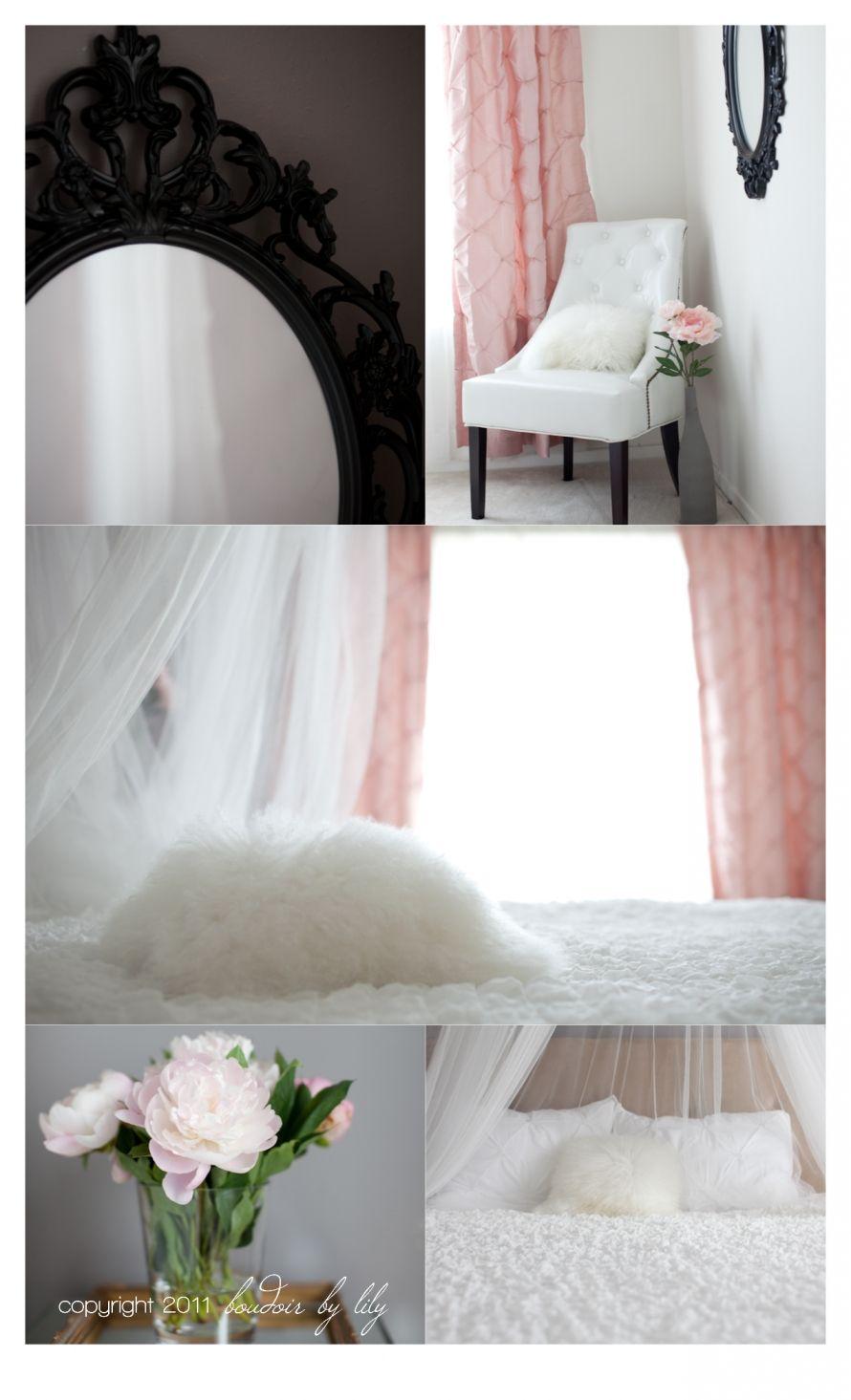 Boudoir decorations by Lily home studio | My Next Place | Pinterest ...