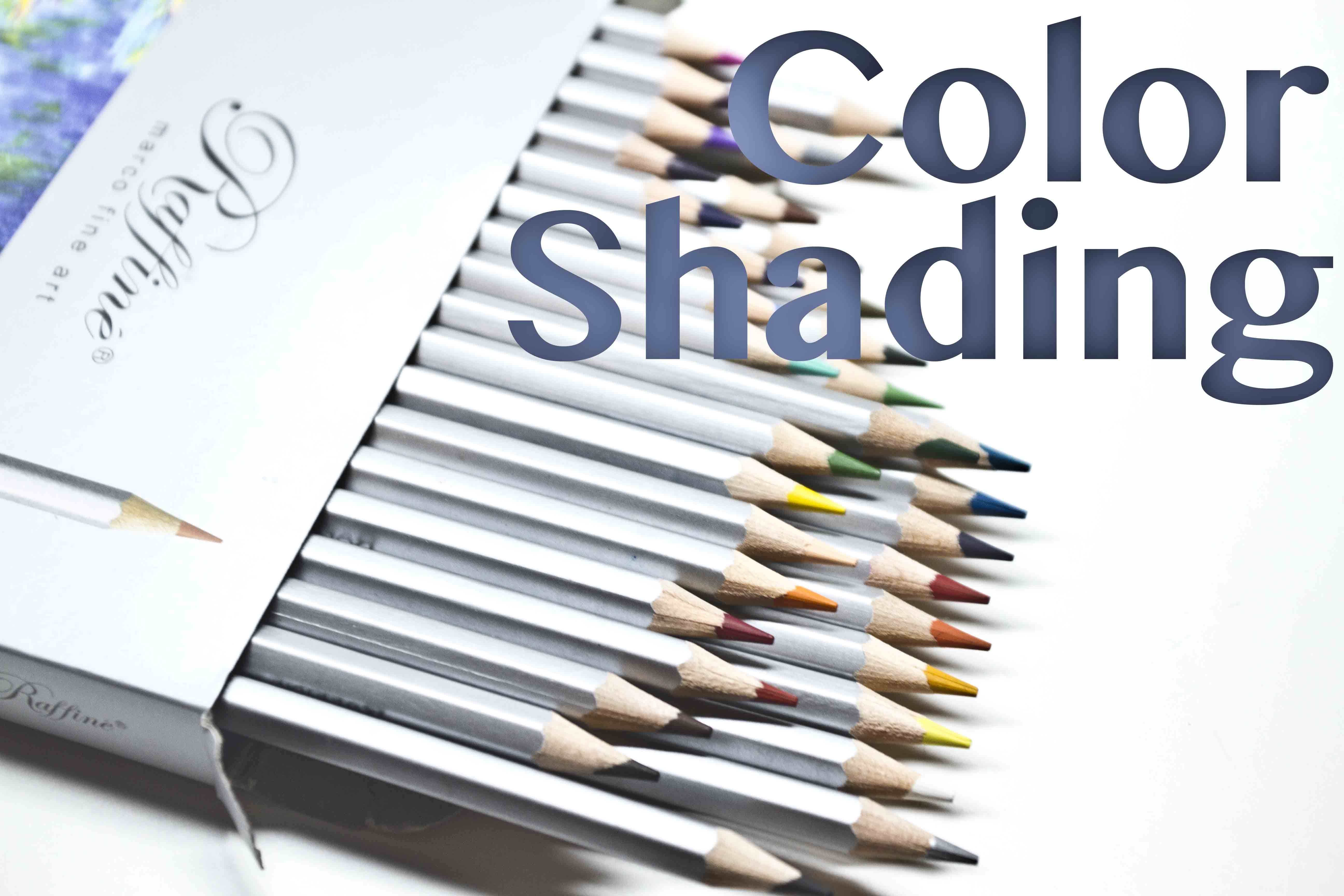Great Techniques For Shading With Colored Pencils