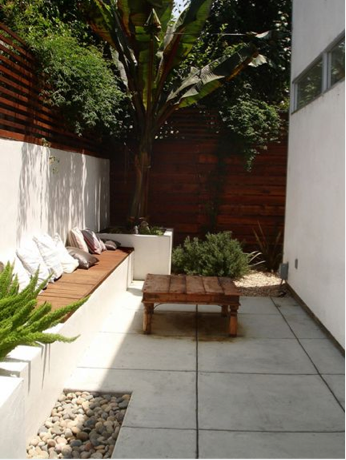 Terraza Jardines Pequeños Decorar Patio Pequeño Y Jardines