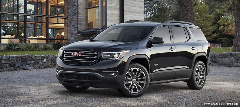 Choose Your 2017 Acadia Mid Size Suv Gmc Suv Mid Size Suv