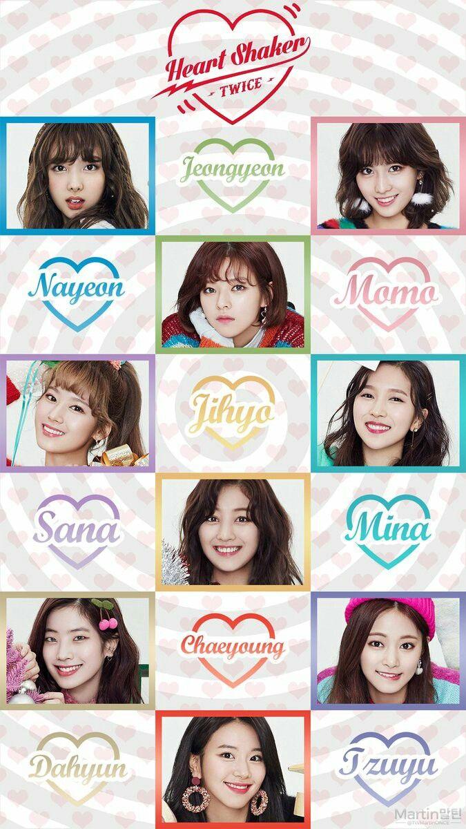 Twice Kpop Wallpaper Sana Jihyo Chaeyoung Jungyeon Nayeon Momo Mina