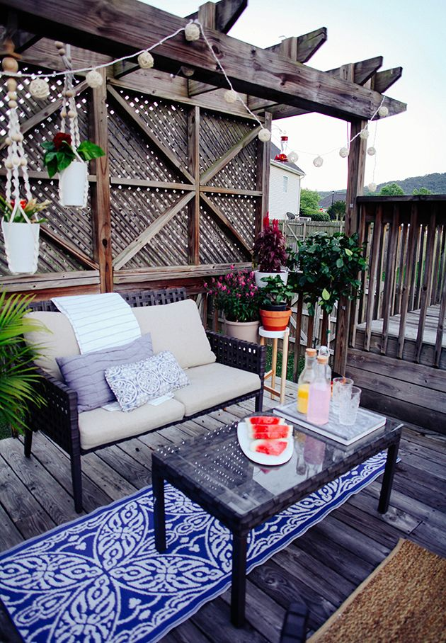 budget friendly patio