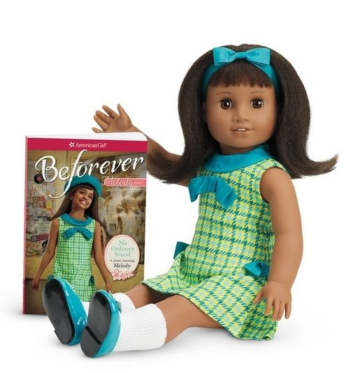This summer, American Girl Doll will add another doll to its collection, nine-year-old African-American girl named Melody Ellison who lived in Detroit during the 1960s Civil Rights era