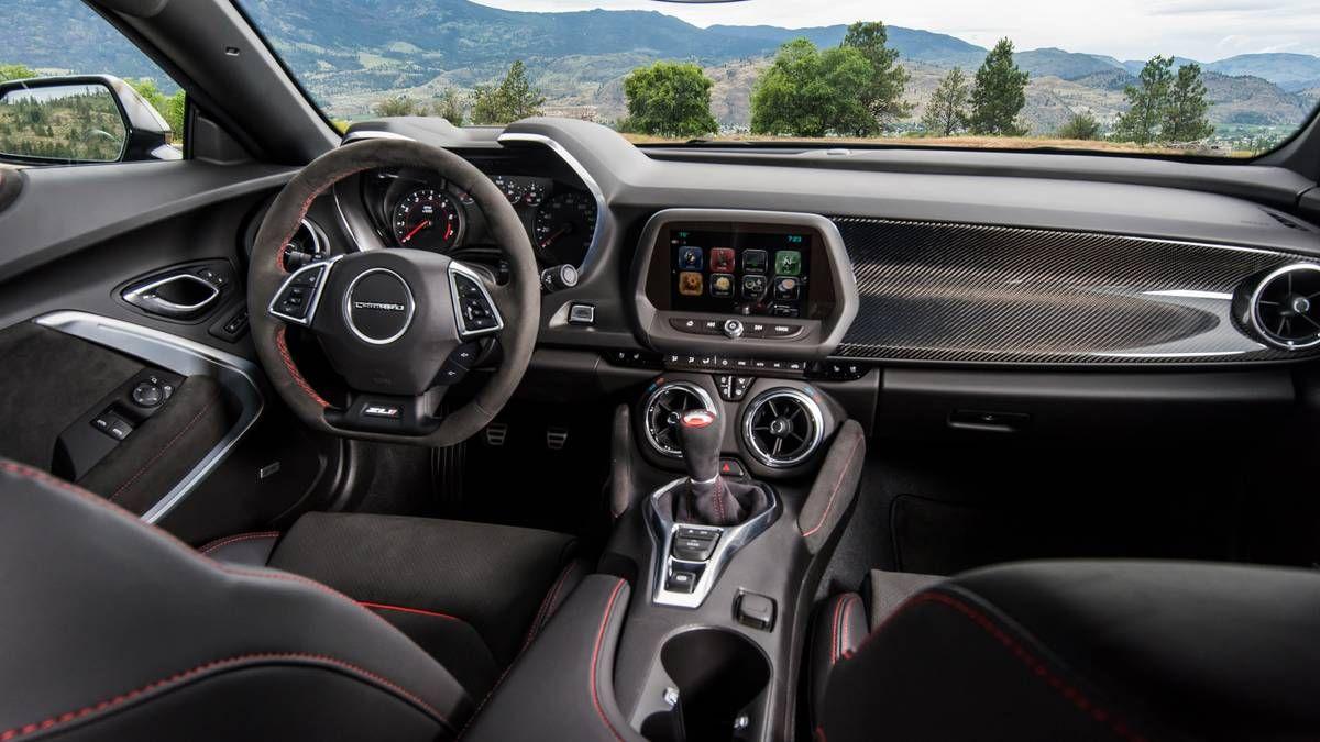 2018 Camaro Zl1 1le Photo 10 Camaro Interior Chevrolet Camaro Camaro Zl1