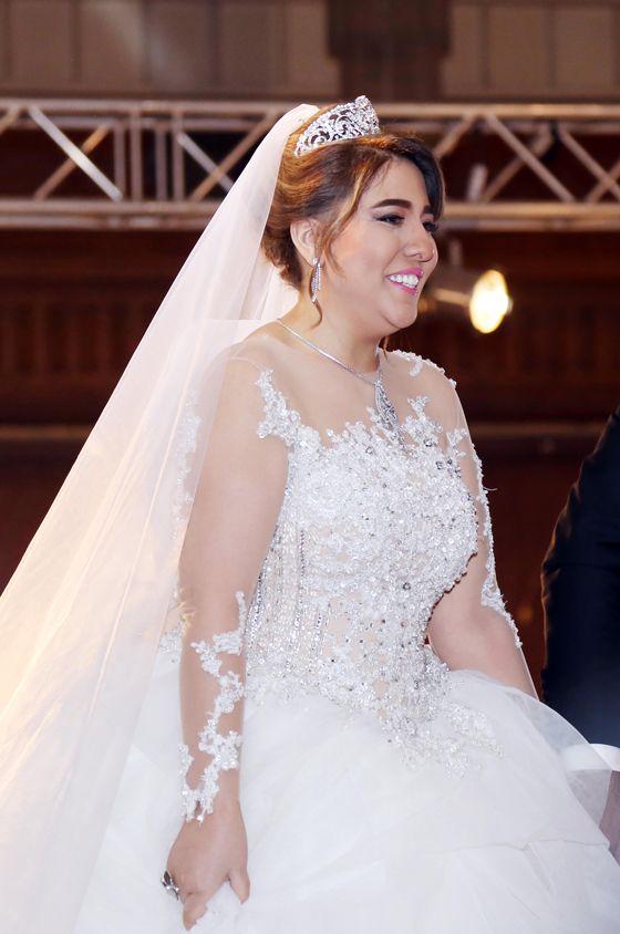 مي كساب عروس بالفستان الأبيض للمرة الثانية Wedding Dresses Lace Dresses Wedding Dresses