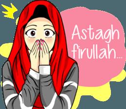 New Funny Emoji  Hijab Raihana – LINE stickers | LINE STORE 2