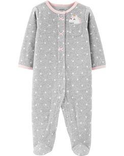 Simple Joys by Carters Baby Lot de 2 jeux de pieds en coton pour dormir et jouer